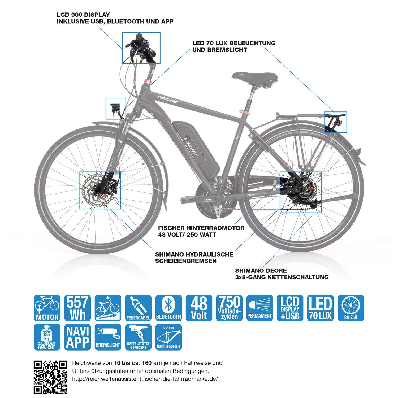 Fischer E Bike Akku Ladegerät 48 V kaufen bei OBI