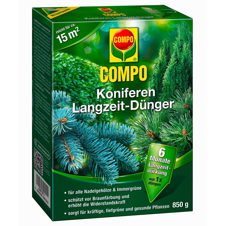 Compo Koniferen & Immergrün Dünger mit Sofort- ...