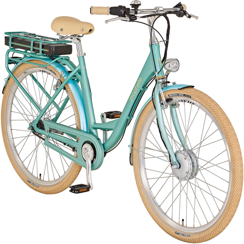 Prophete E Bike Alu Urban Retro Damen   Fahrräder