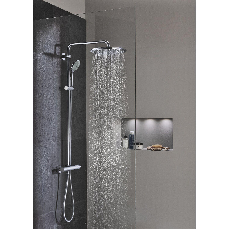 grohe duschsystem euphoria  mit besonders breitem