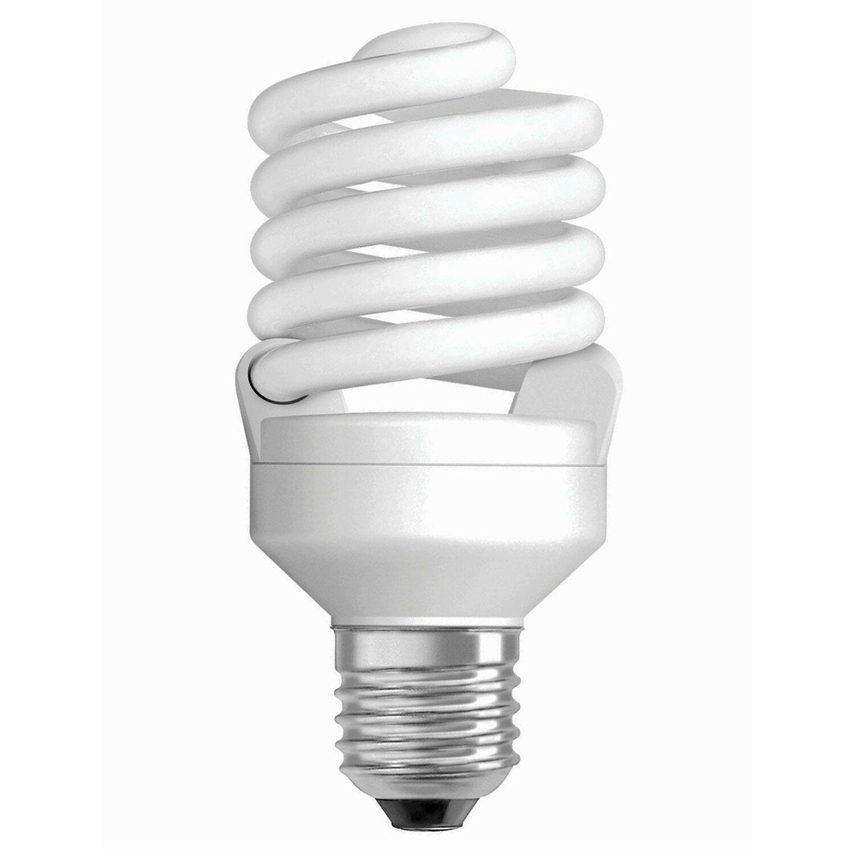 osram energiesparlampe spiralform e27 21 w 1400 lm warmwei eek a kaufen bei obi. Black Bedroom Furniture Sets. Home Design Ideas