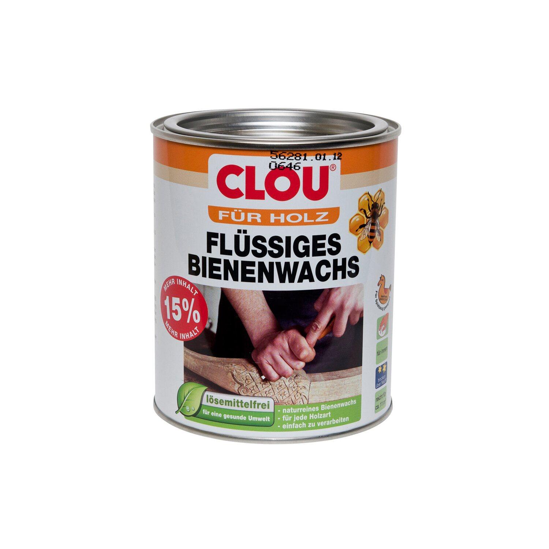 CLOU Clou Flüssiges Bienenwachs Transparent seidenglänzend 750 ml