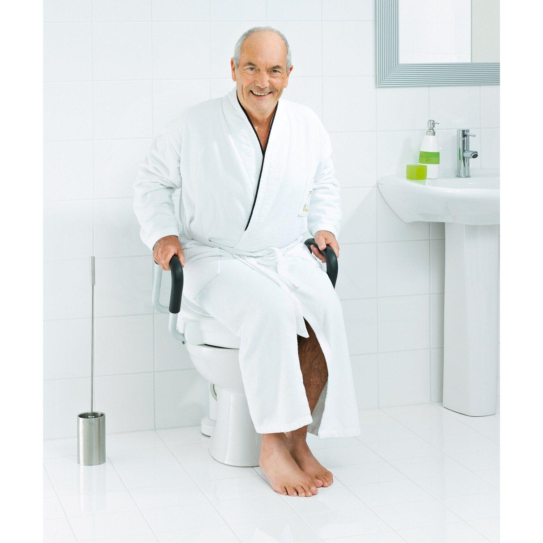 ridder wc sitzerh hung mit griffen und deckel 10 cm bis 150 kg kaufen bei obi. Black Bedroom Furniture Sets. Home Design Ideas