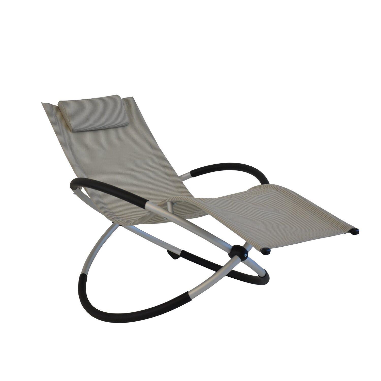 leco schaukelstuhl klappbar beige grau kaufen bei obi. Black Bedroom Furniture Sets. Home Design Ideas