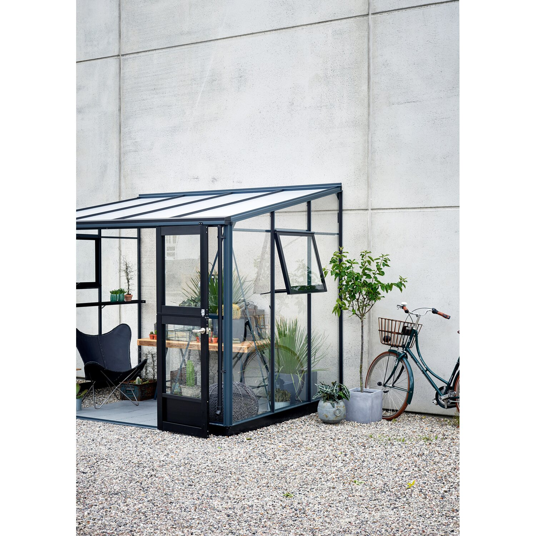 Juliana Anlehn Gewachshaus Veranda 6 6 M Anthrazit Kaufen Bei Obi