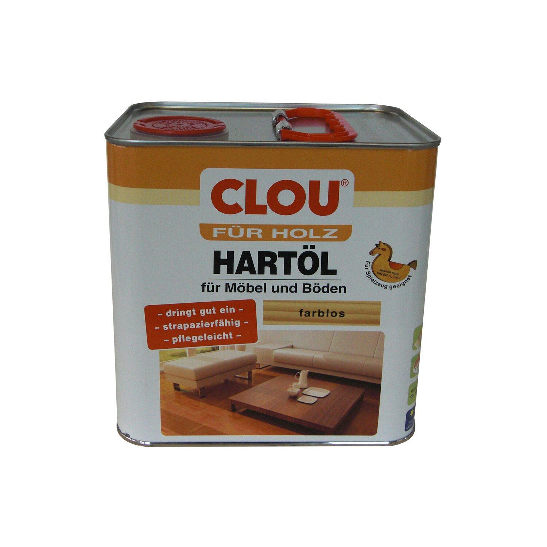 CLOU Clou Hartöl Transparent 2,5 l