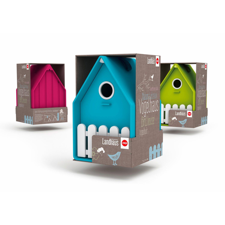 emsa vogelh uschen landhaus wei gr n kaufen bei obi. Black Bedroom Furniture Sets. Home Design Ideas