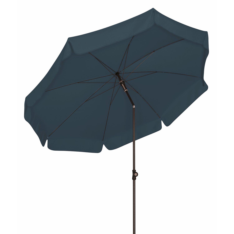 doppler sonnenschirm sunline rund 200 cm anthrazit kaufen bei obi. Black Bedroom Furniture Sets. Home Design Ideas