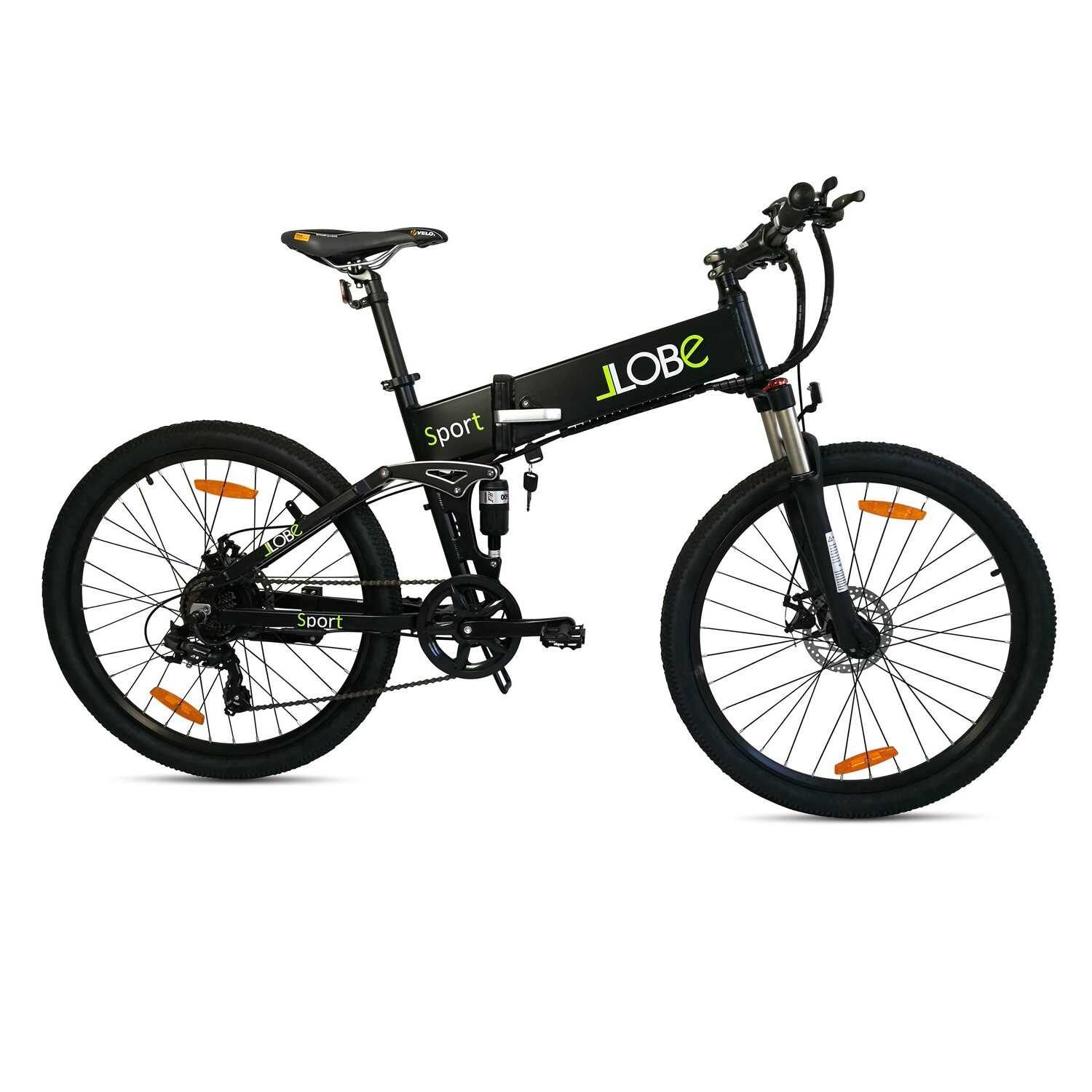 llobe e bike faltbar 26 alu mtb sport schwarz kaufen bei obi. Black Bedroom Furniture Sets. Home Design Ideas