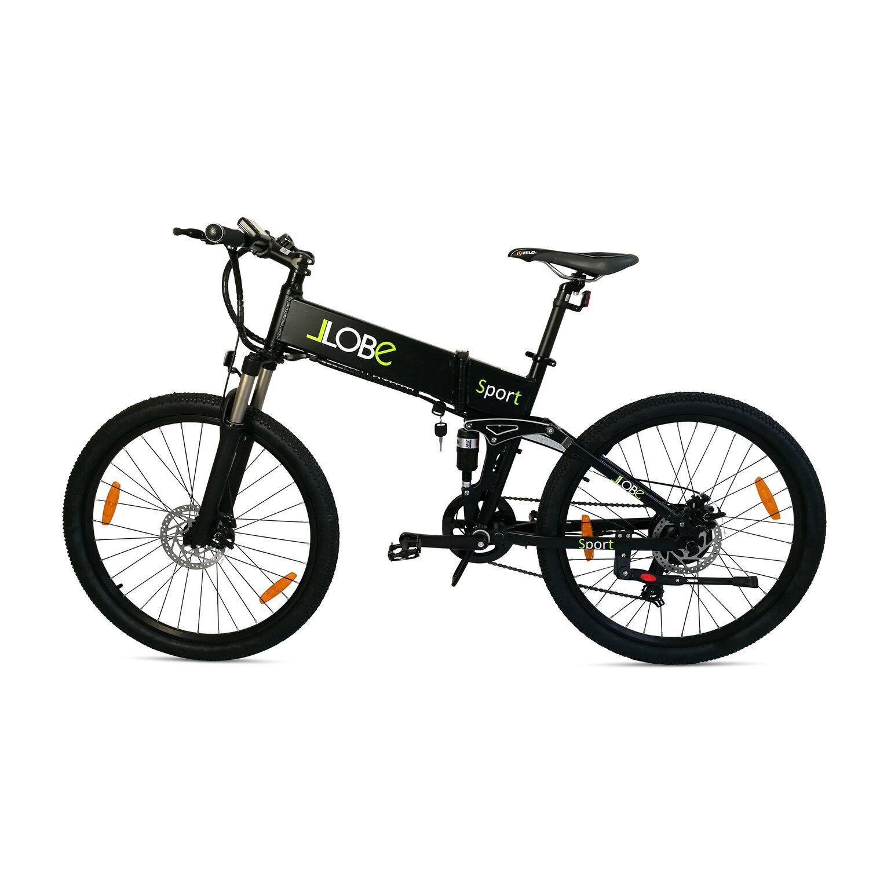 llobe e bike faltbar 26 alu mtb sport schwarz kaufen bei obi. Black Bedroom Furniture Sets. Home Design Ideas