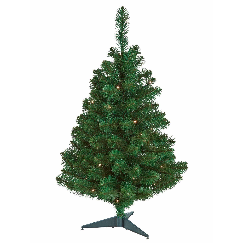 Künstlicher Weihnachtsbaum Mit Beleuchtung.Künstlicher Weihnachtsbaum 90 Cm Mit Led Beleuchtung Kaufen Bei Obi