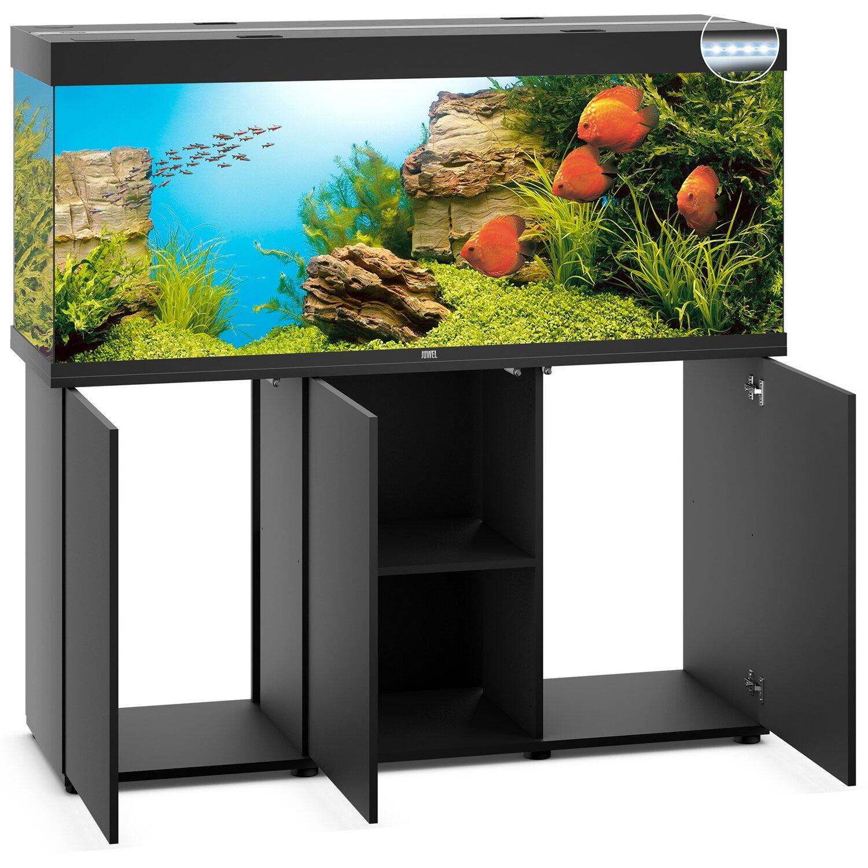 Juwel Aquarium Set Rio Led Sbx Schwarz 450 L Inkl