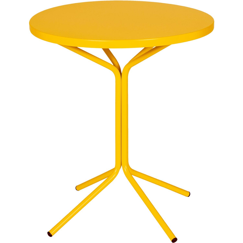 schaffner garten und balkon beistelltisch pix 60 cm gelb kaufen bei obi. Black Bedroom Furniture Sets. Home Design Ideas