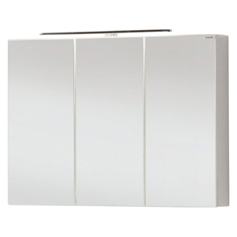 Fackelmann spiegelschrank vadea 90 cm wei eek a a for Spiegelschrank obi