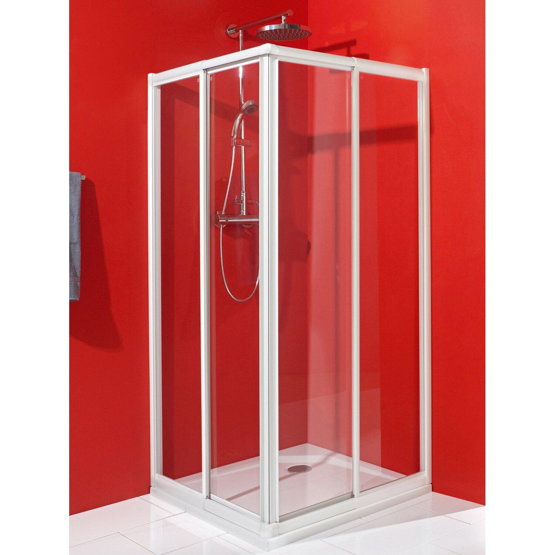 schulte eckeinstieg alexa mit schiebet ren echtglas. Black Bedroom Furniture Sets. Home Design Ideas