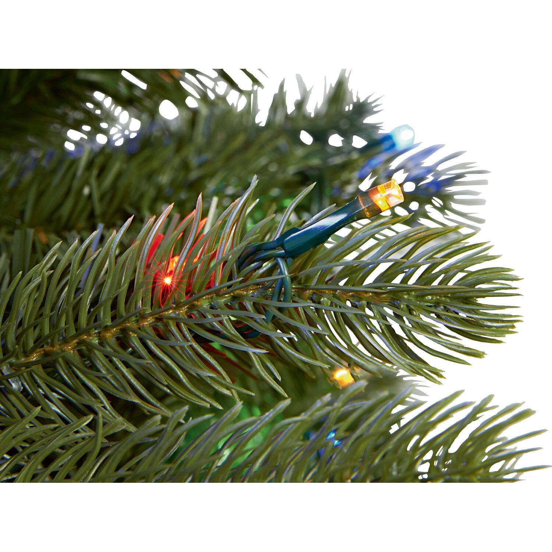 Kunststoff Weihnachtsbaum.Kunstlicher Weihnachtsbaum Laitila 210 Cm Mit Led Beleuchtung