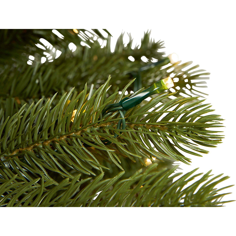 k nstlicher weihnachtsbaum laitila 210 cm mit led. Black Bedroom Furniture Sets. Home Design Ideas