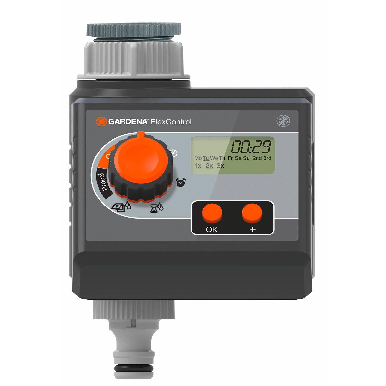 Gardena Bewässerungscomputer FlexControl  zur Auswahl individueller Intervalle