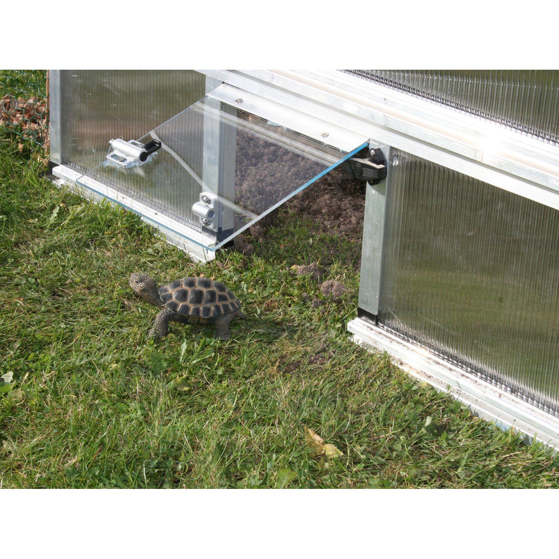 KGT Schildkröten-Unterbau für Frühbeet Premium 25 cm x 100 cm Alu ...