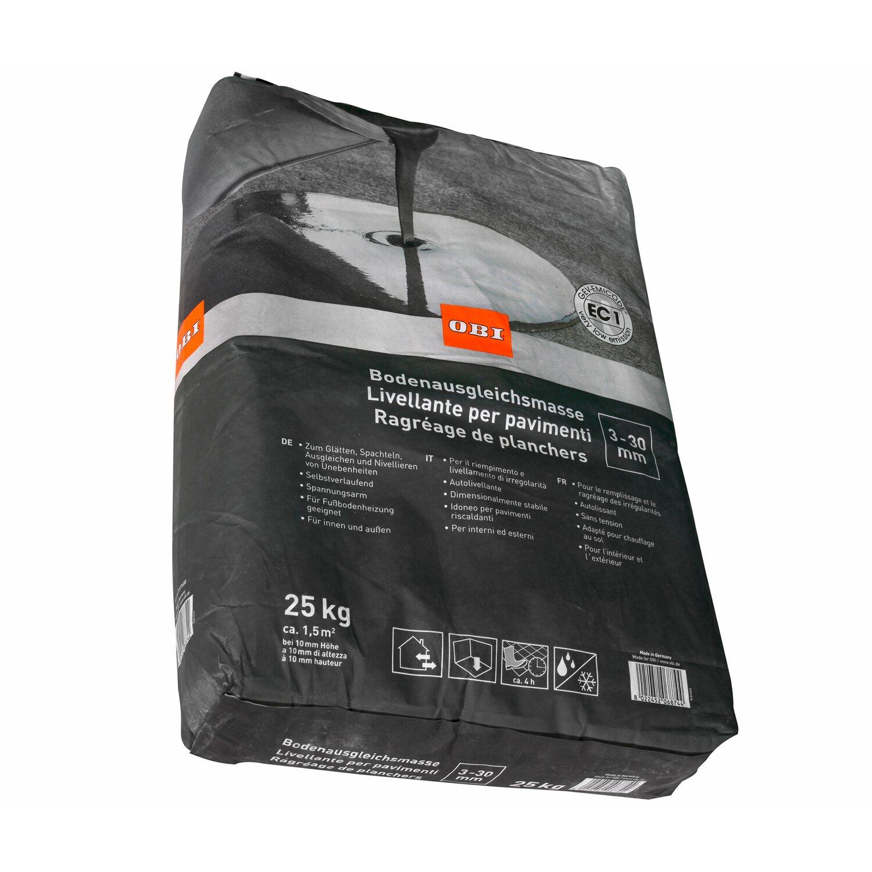 OBI  Bodenausgleichsmasse 3 mm - 30 mm Grau 25 kg