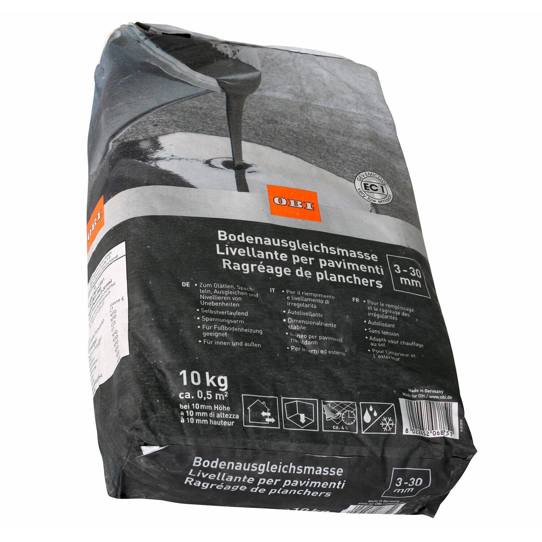 OBI  Bodenausgleichsmasse 3 mm - 30 mm Grau 10 kg