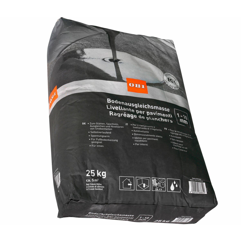 OBI  Bodenausgleichsmasse 1 mm - 10 mm Grau 25 kg