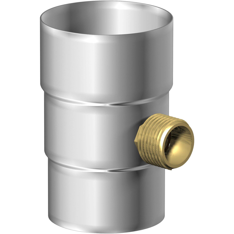 Streng Kupfer Steckmuffe Fallrohrverbinder Für Rohre Dn 60 Baustoffe & Holz
