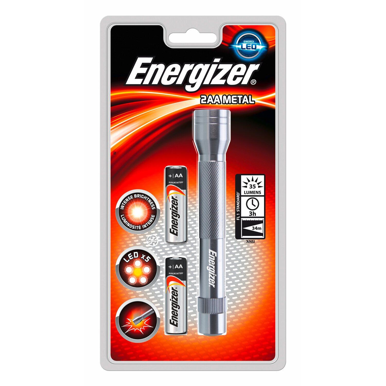 Energizer  2AA Metal inkl. Alkaline Batterien