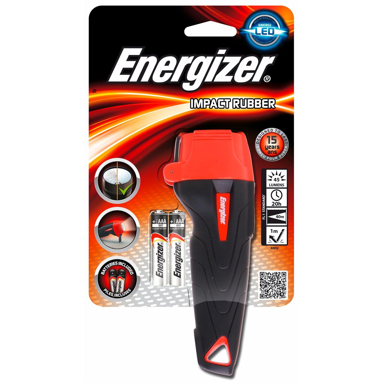 Energizer  Impact Rubber inkl. Alkaline Batterien