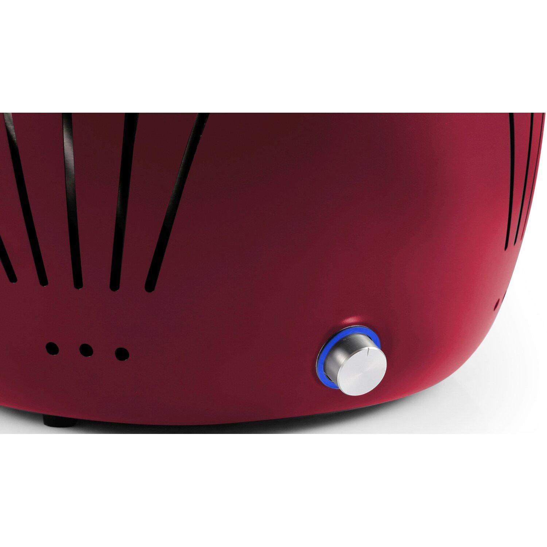 el fuego holzkohlegrill tulsa rot inkl tragetasche kaufen bei obi. Black Bedroom Furniture Sets. Home Design Ideas