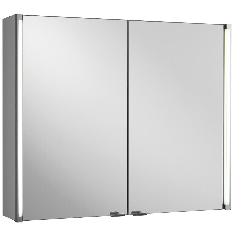 fackelmann spiegelschrank led line 81 cm eek a kaufen bei obi. Black Bedroom Furniture Sets. Home Design Ideas