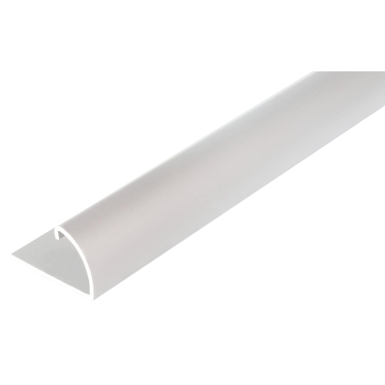 Sonstige Abschlussprofil Silber eloxiert 13,5 mm x 24,5 mm x 1000 mm
