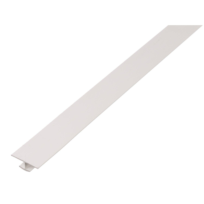 H-Profil Weiß 4 mm x 25 mm x 2600 mm