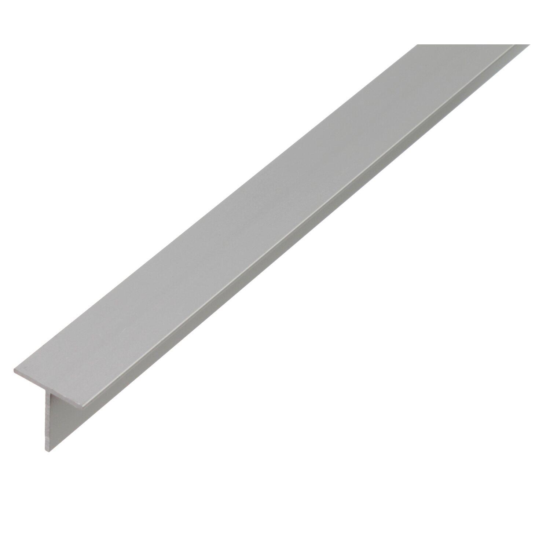 T-Profil Silber eloxiert 20 mm x 20 mm x 2000 mm