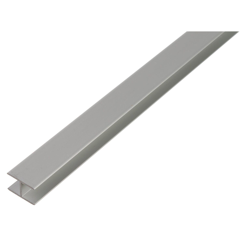 H-Profil selbstklemmend Silber eloxiert 22 mm x...