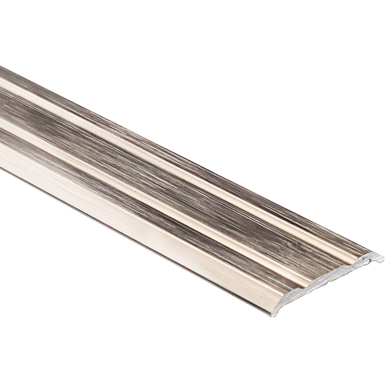 Arcansas Übergangsprofil Piattoal Alu elox. Kupfer gebürstet 25 mm x 0,9 m
