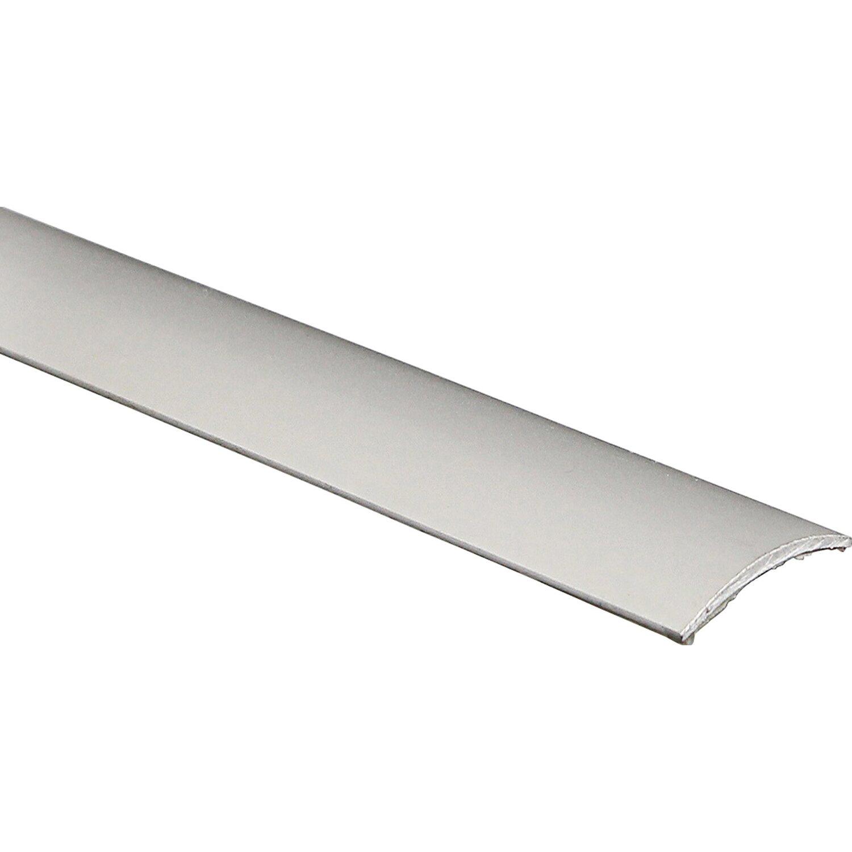 Arcansas Übergangsprofil Semial Alu elox. Silber glänzend 30 mm x 0,9 m