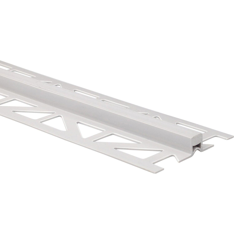 Arcansas Dehnfugenprofil PVC Grau 10 mm x 2,5 m