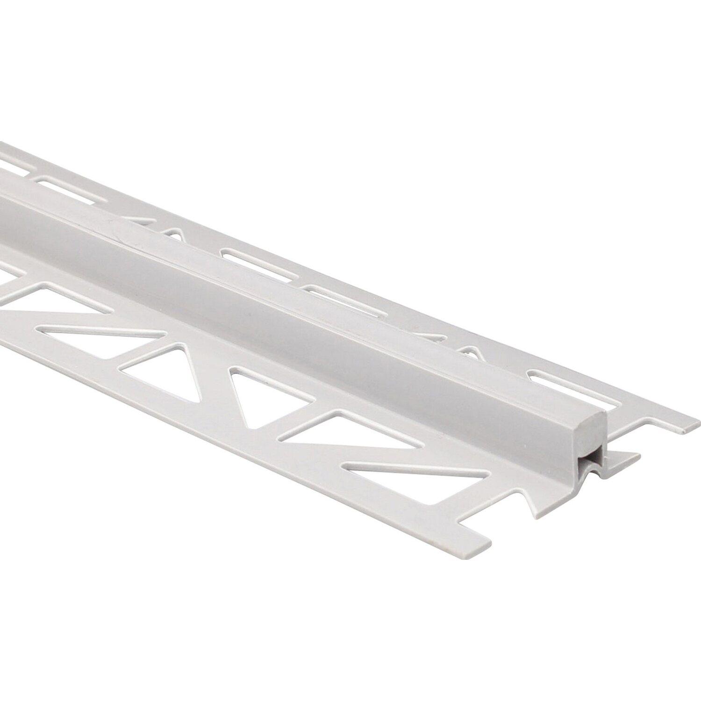 Arcansas Dehnfugenprofil PVC Grau 8 mm x 2,5 m