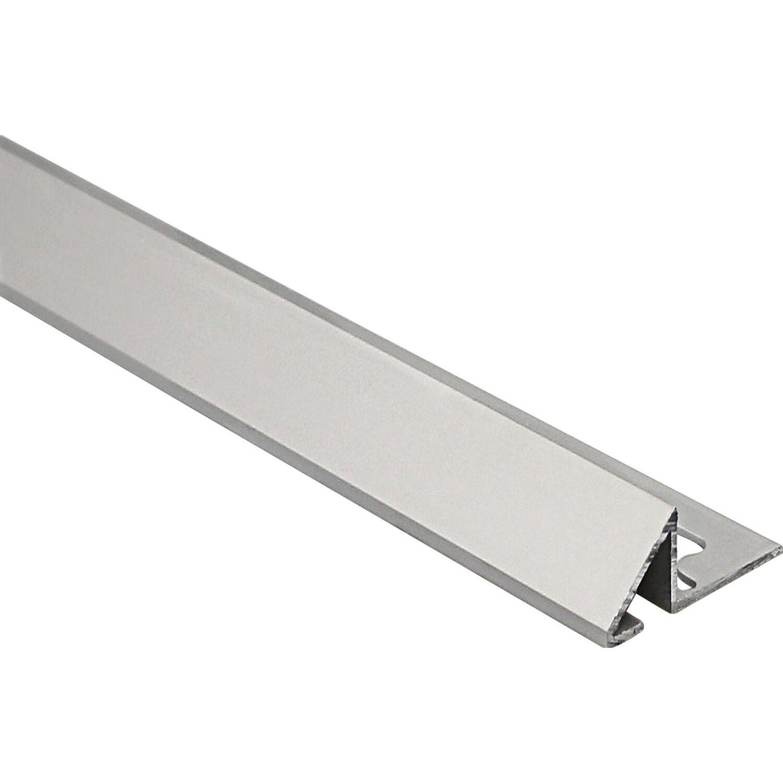Arcansas Bodenausgleichsprofil Scivoalu Alu eloxiert Silber matt 10 mm x 0,9 m