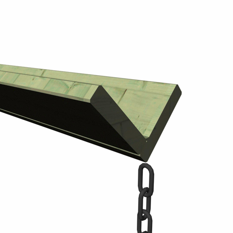 karibu holz dachrinnen set 1 beidseitig kaufen bei obi. Black Bedroom Furniture Sets. Home Design Ideas