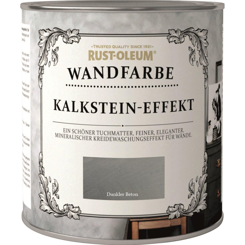 Rust Oleum Wandfarbe Kalkstein Effekt Dunkler Beton 1 L Kaufen Bei Obi