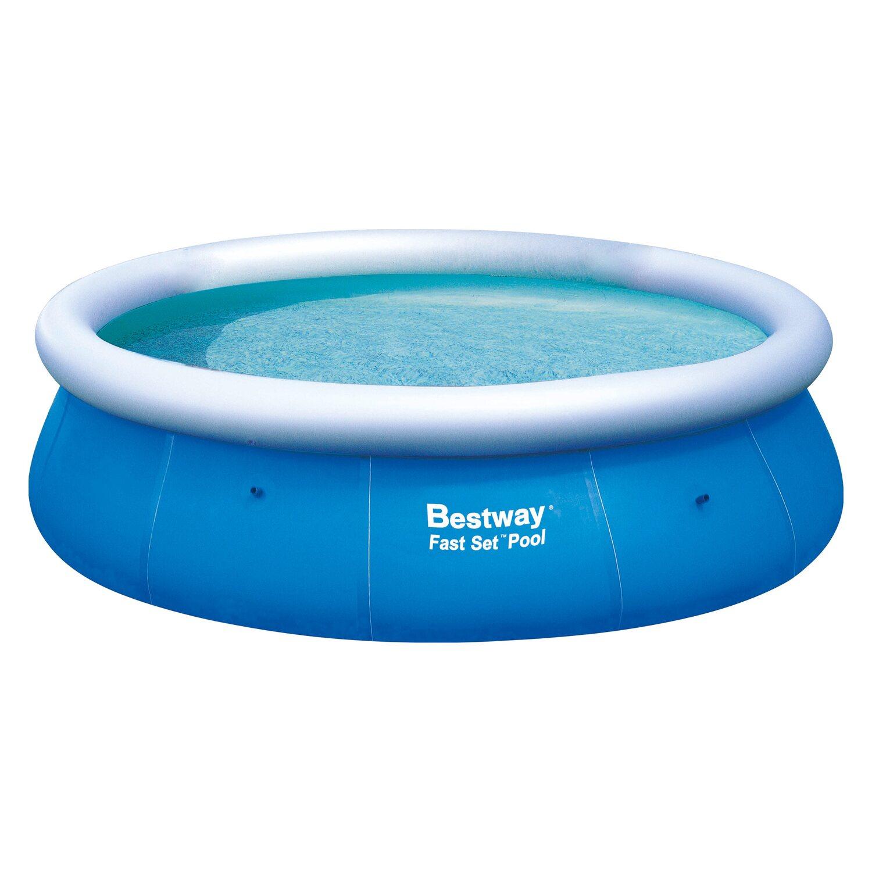 Bestway fast pool set 366 cm x 91 cm kaufen bei obi for Bestway obi