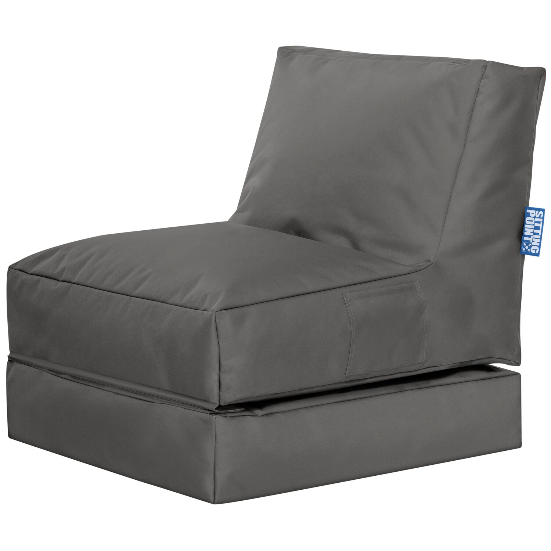 Sitting Point Sitzsack Twist  Scuba Anthrazit