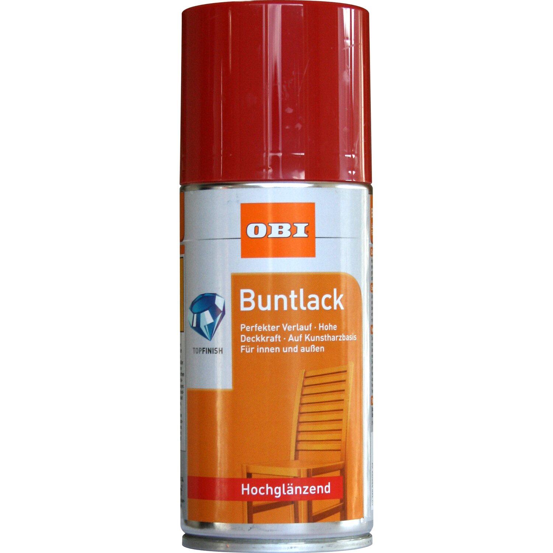 OBI  Buntlack Spray Feuerrot hochglänzend 150 ml