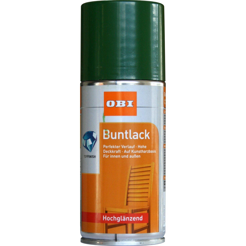OBI  Buntlack Spray Laubgrün hochglänzend 150 ml