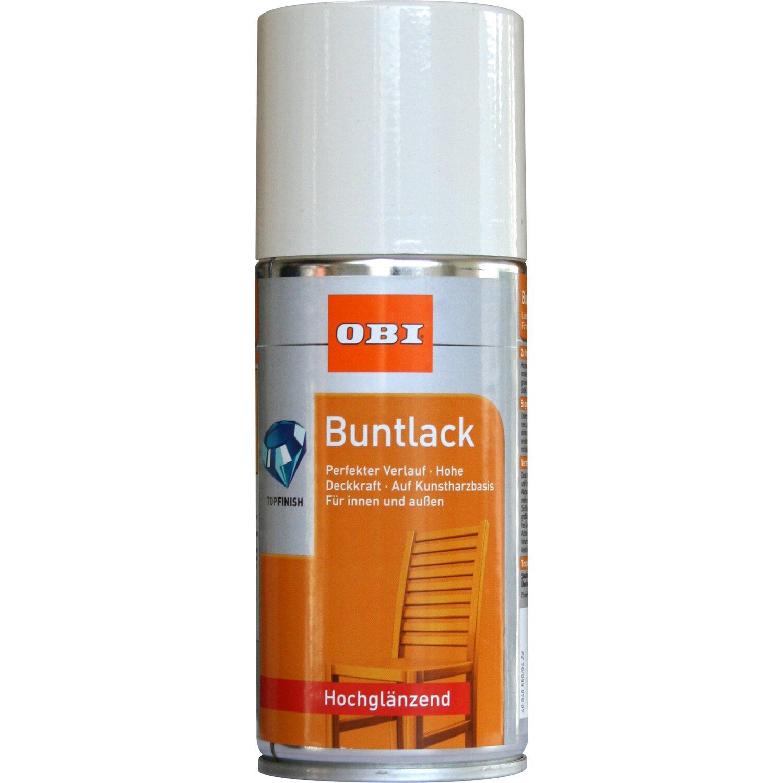 OBI  Buntlack Spray Cremeweiß hochglänzend 150 ml