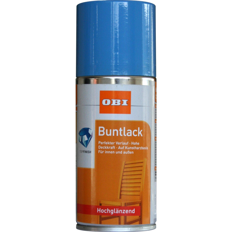 OBI  Buntlack Spray Lichtblau hochglänzend 150 ml