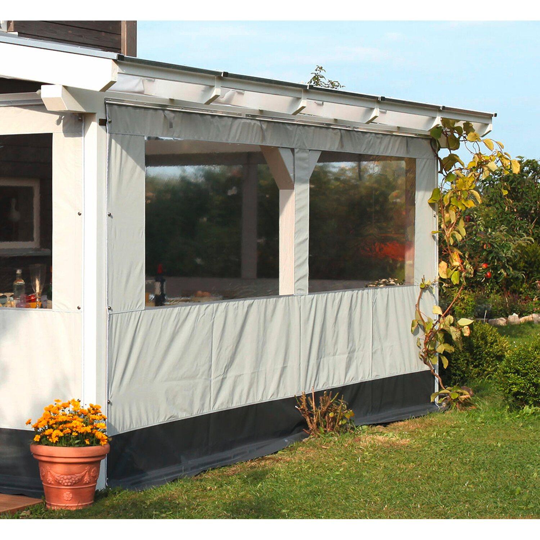 skan holz partyzeltwand front f r terrassen berdachung 541 cm breite kaufen bei obi. Black Bedroom Furniture Sets. Home Design Ideas