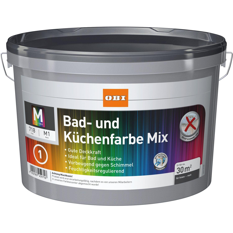 OBI Bad- Und Küchenfarbe Mix 2,5 L Kaufen Bei OBI